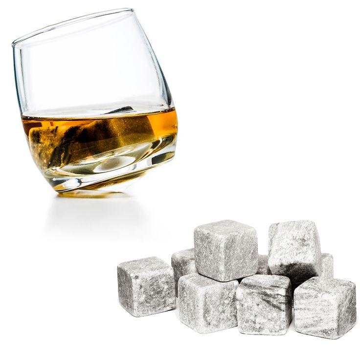 Praktický a elegantní dárkový set je určen pro milovníky whisky a ty, kteří mají rádi moderní styl.