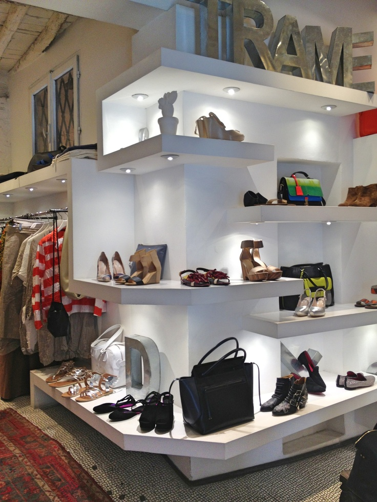 How it looks like inside our Dolcitrame shop in Siena! #shoes #bags  #clothing #kenzo #chiemihara #jilsander #chloé #dolcitrame