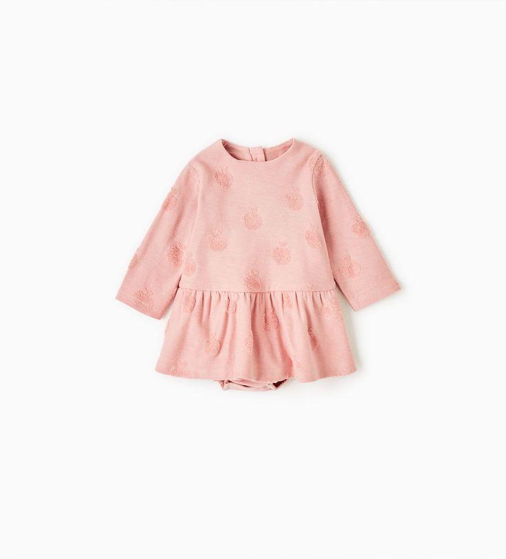 APPLE PRINT DRESS-NEW IN-MINI | 0-12 months-KIDS | ZARA United States