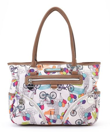 Another great find on #zulily! Up In The Air Twin Pocket Satchel by Lily Bloom #zulilyfinds