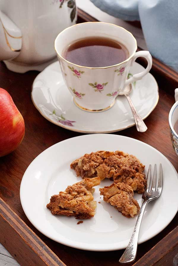 Gluten-Free Apple Cinnamon Scones