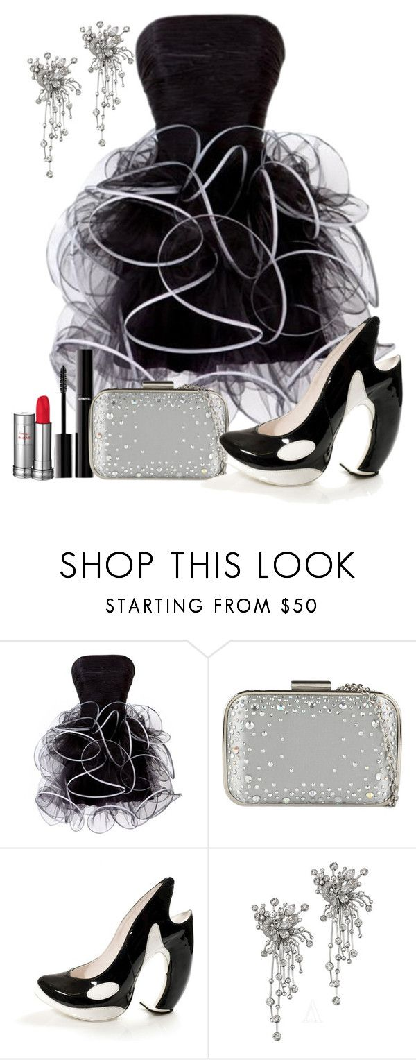 """""""Killer Heels"""" by lovesdelight ❤ liked on Polyvore featuring Chanel, ALDO, Orca, Audemars Piguet and Lancôme"""