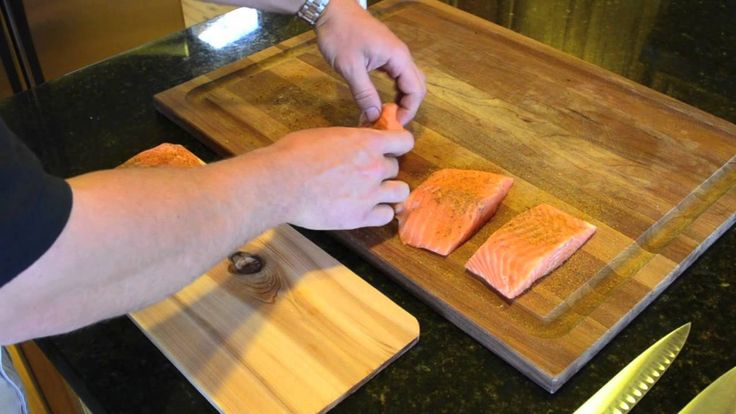 Cedar Plank Salmon on your Pit Barrel Cooker