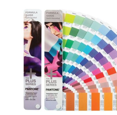 #PANTONE FORMULA GUIDE Solid Coated & Solid Uncoated set is the must-have tool for designers, printers and color decision makers for specifying and approving spot colors in graphic projects