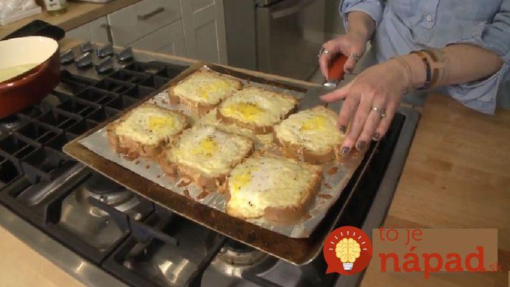 Chlebík vo vajíčku robím často, pretože je to super nápad, ako zužitkovať starší chlebík a nakŕmiť mojich dvoch chlapov (muža a synátora). Vyskúšala som super nápad z pinterestu, ktorý odporúčam každej gazdinke. Ušetrí vám to čas a je to skvelé papanie.
