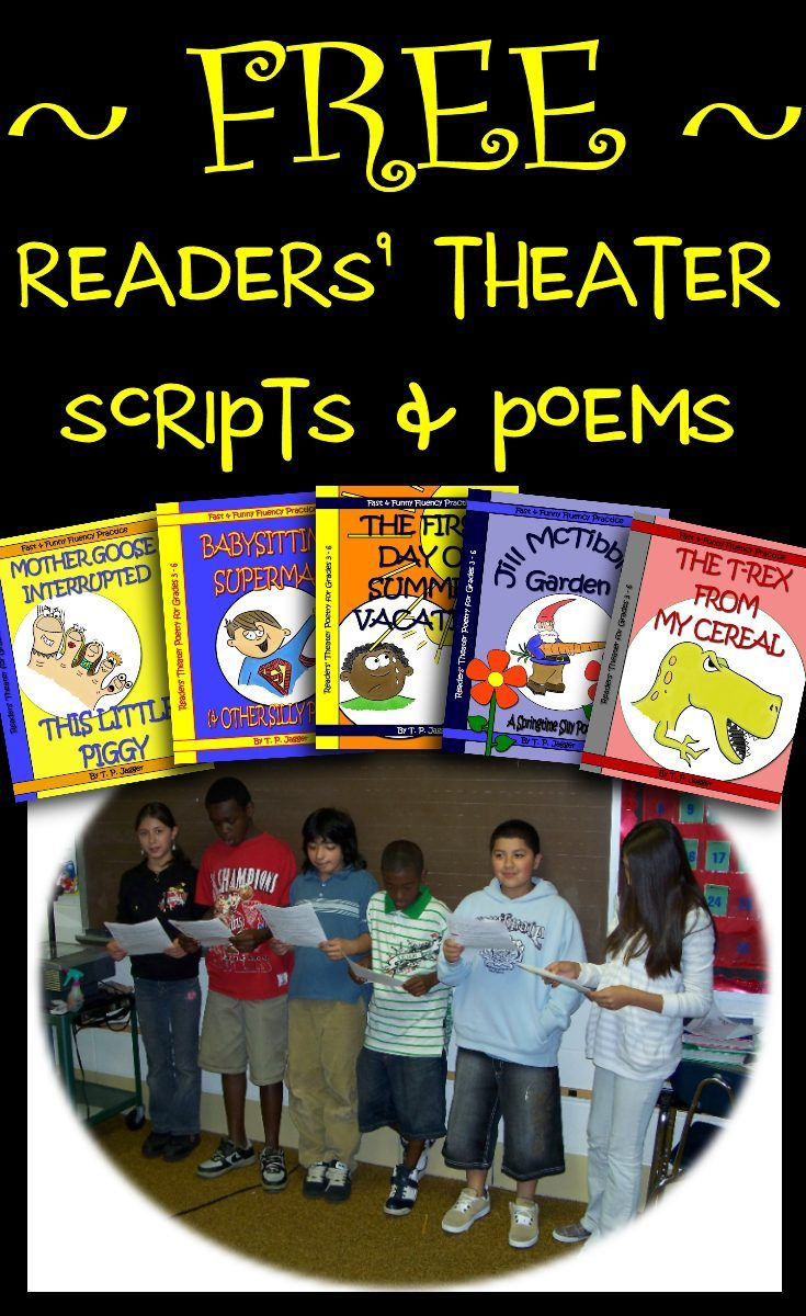 Free Readers Theater Scripts and Poems