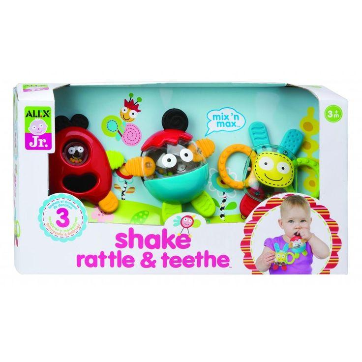 ALEX Toys ALEX Jr. Shake, Rattle & Teethe
