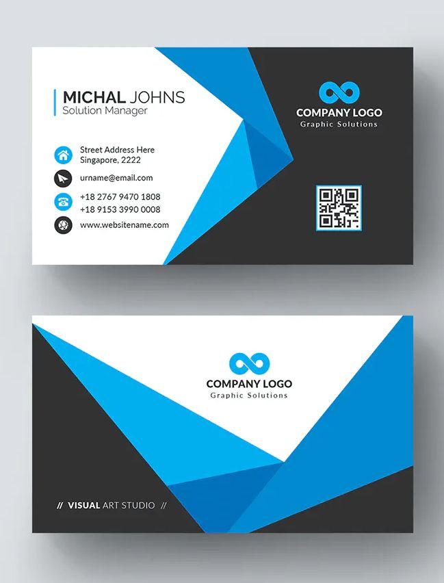 Business Card Design Template Vector Business Card Template Design Doctor Business Cards Business Card Design