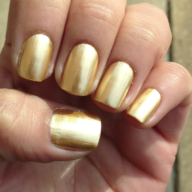 Metallic Gold Nail Polish: 34 Best Images About Metallic Gold Nail Polish On