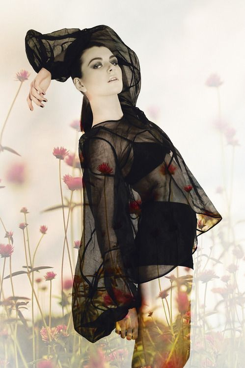 Image projection, fashion photography