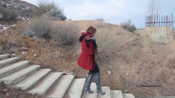 Elena - Overknee-Stiefel, Leggings, Strand (Boots, Beach, Leggings) - #0122