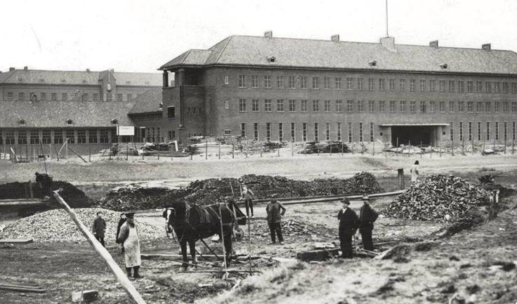 Rotterdam - Bouw Zuiderziekenhuis. 1932