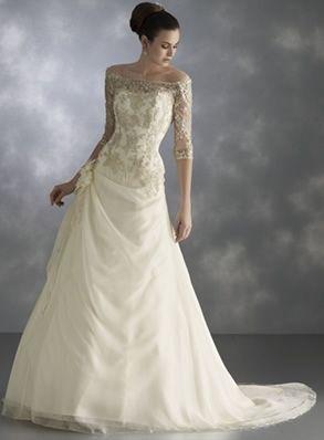 Antique wedding dresses pictures