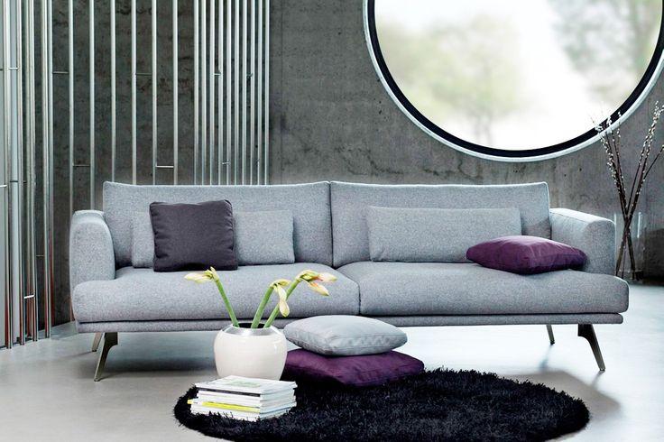 I'd like to find a sofa a bit like this. I like how light it looks. ||Forli sofa