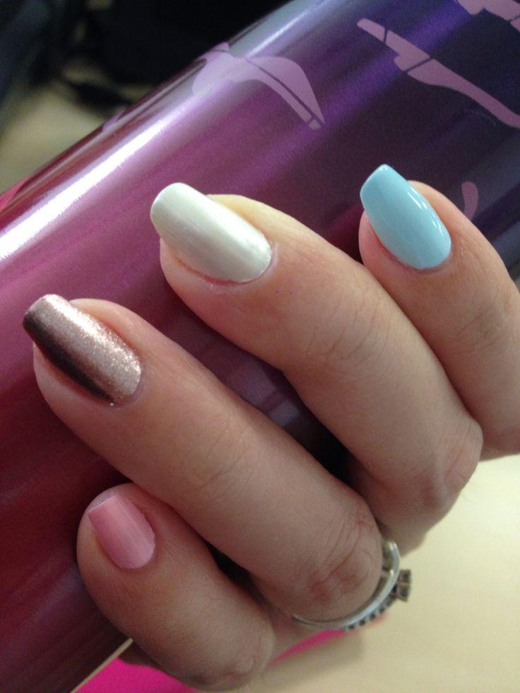 Glam pastel
