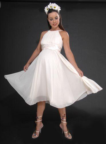 28 best maternity wedding dress images on pinterest for Designer maternity wedding dresses