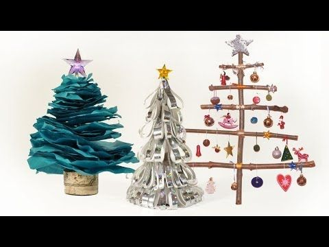 2D Bark Christmas Tree Standing (rightmost pic)