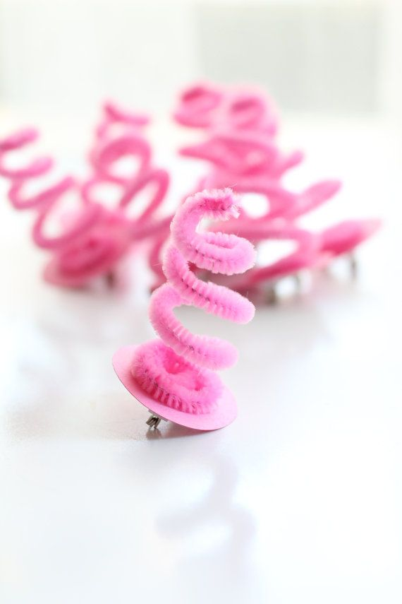 Pig Tail Party Favors 8 by SweetJellyParties on Etsy