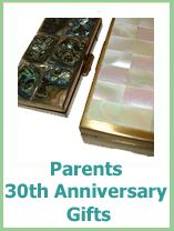 Unusual 30th Wedding Anniversary Gifts : 30th Wedding Anniversary Gift Ideas For Parents uniquesharabooks ...