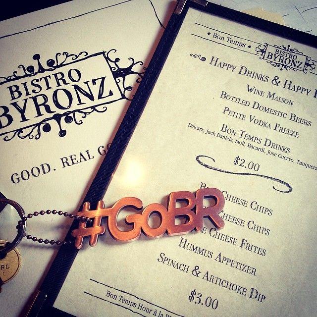 #GoBR at Bistro Byronz!