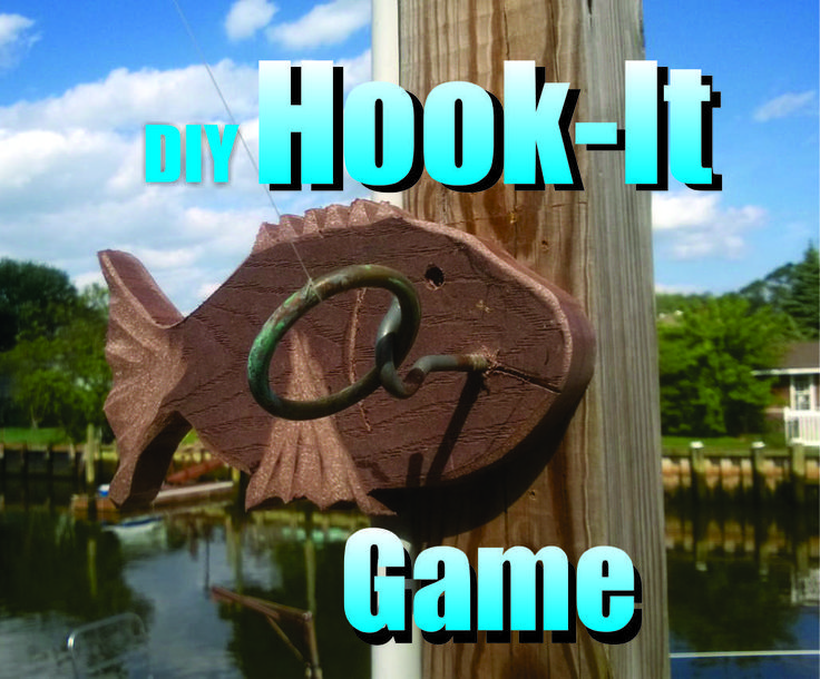 Diy Ring On A String Hook It Game Add A Fish Sculpture To