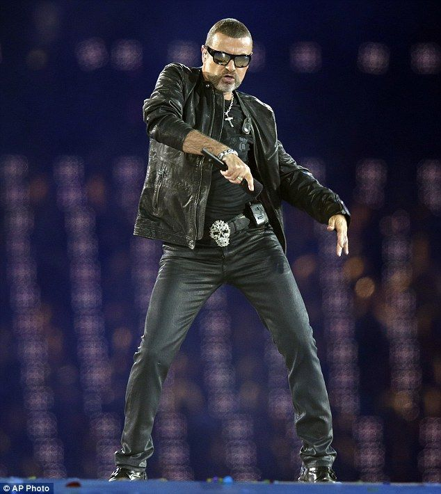 "George performs ""White Light"" at the closing ceremonies of the 2012 Olympic Games!"