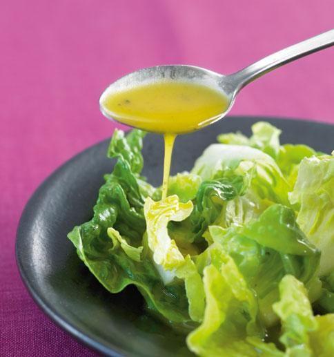 Salat mit Honig-Senf-Dressing - [ESSEN UND TRINKEN]