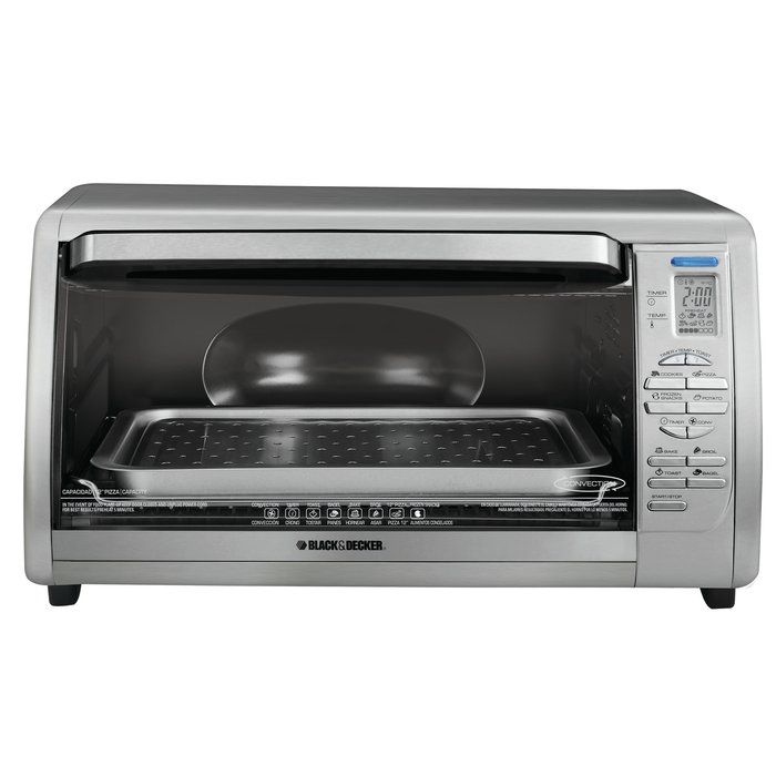 Digital Touchpad Toaster Oven In 2020 Countertop Convection Oven Stainless Steel Countertops Countertop Oven
