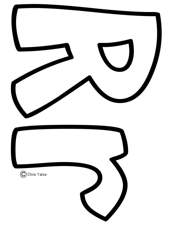 34 best ABC templates images on Pinterest | Letters, Alphabet ...