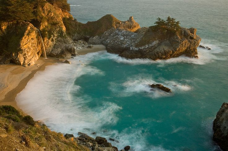 vacation?: Big Sur California, Mcway Falls Sunset, Favorite Places, Nature, Falls Beach, Beautiful Places, Places I D, Photography