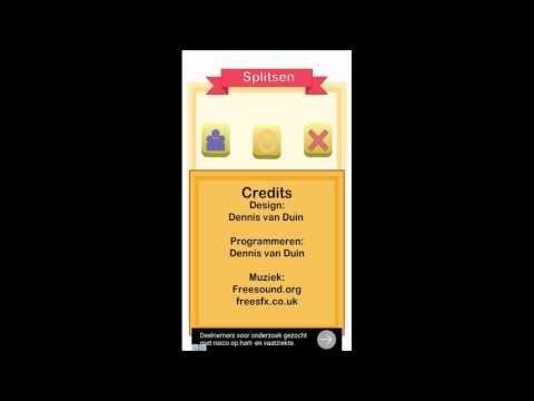 Splitsen Applicatie Meester Dennis - YouTube