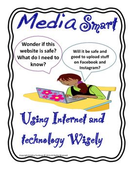This mini-workbook will help you students identify things that they overlook when using the internet and social media websites. Be more aware of the terminologies. They will also analyse and think what is proper and improper when posting and publishing on the internet.