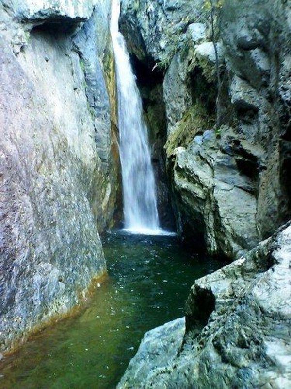 Corsica - Cascades et Canyons - Bucatoggio u Bucatoghiu - Commune : San Nicolao, Santa Maria Poggio.(Cascade de l'Ucelluline).(Haute Corse)