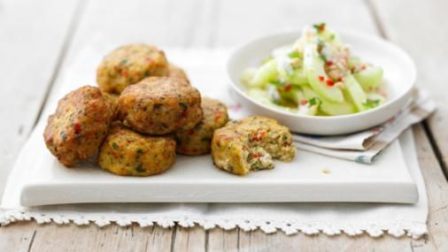 Hot, spicy and wonderfully moreish - these easy Thai fishcakes can be made with any inexpensive white fish.