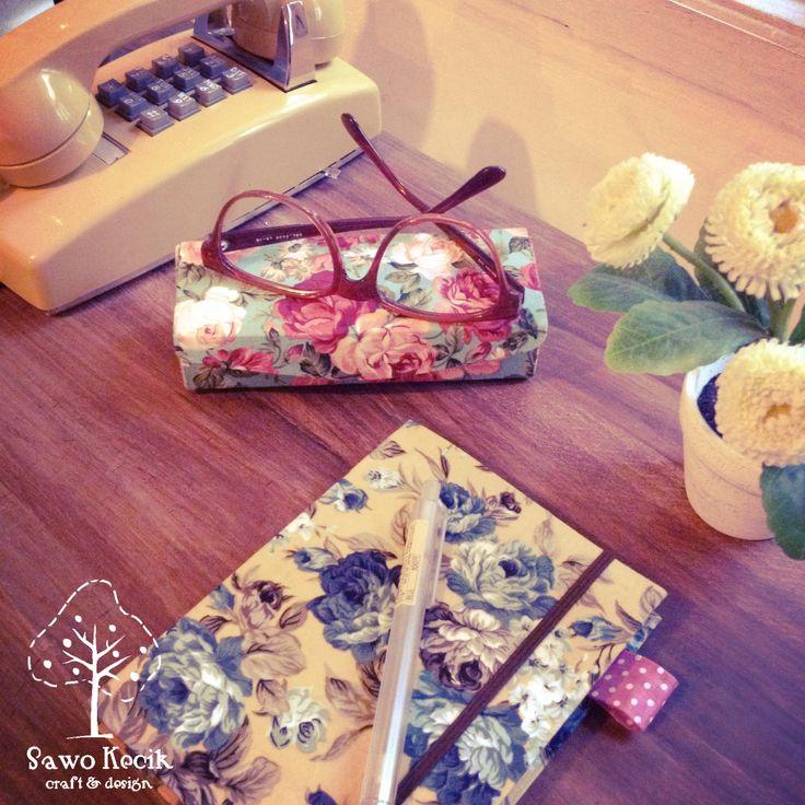 #sawokecik #milkcarton Glasses Box and milkcarton Notebook Cover