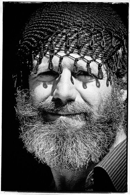 Cretan man portrait traditional