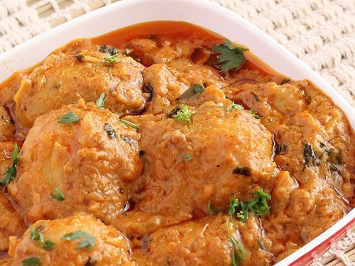 FB Epicu Dum Aloo Punjabi Recipe - with Step by Step Photos - Spicy Curry with Curd Based Gravy