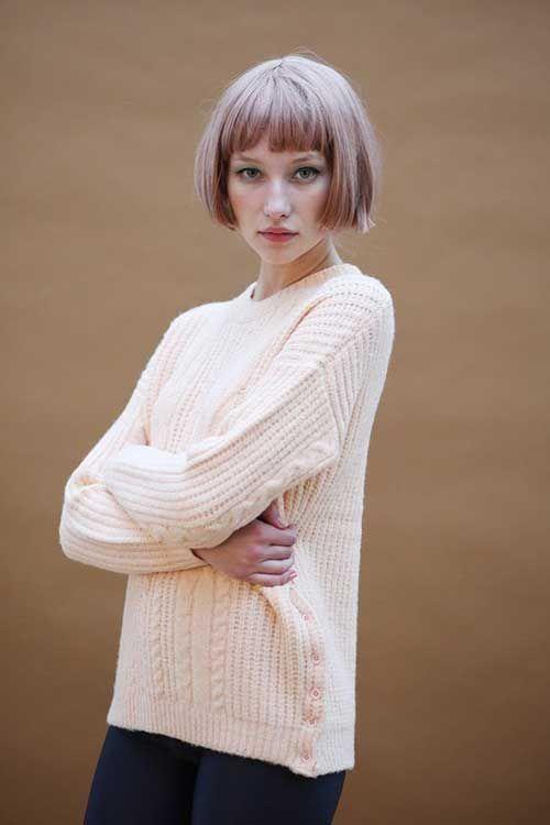 25+ Bob Haircuts With Bangs   Bob Hairstyles 2015 - Short Hairstyles for Women