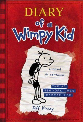 Series: Diary of a Wimpy Kid. It's a new school year, and Greg Heffley finds himself thrust into middle school, where undersized weaklings share the hallways with kids who are taller, meaner, and already shaving. The hazards of growing up before you're ready are uniquely revealed through words and drawings as Greg records them in his diary. - from Goodreads. Ten books in the series.