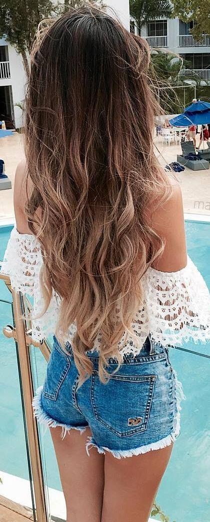 summer outfit idea off shoulder lacer top + shorts