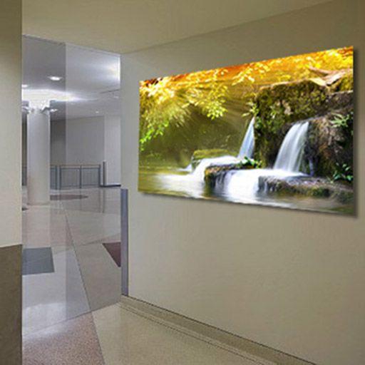 Cuadros retroiluminados eden decoracion beltran tu tienda online de cuadros con iluminacion - Iluminacion para cuadros ...