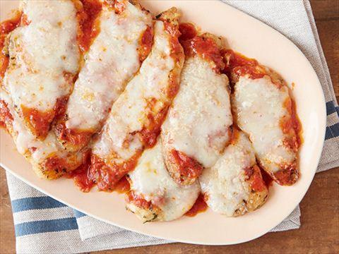 Chicken Parmesan : Giada makes an Italian-American favorite, chicken Parmesan.