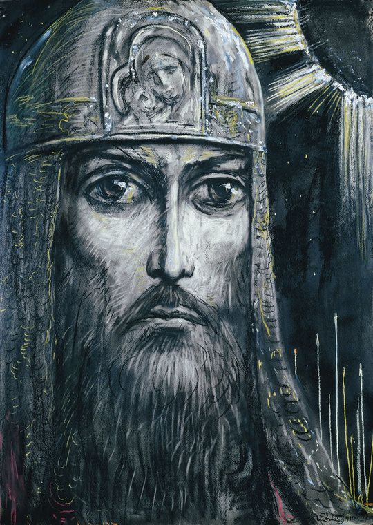 Prince Igor' by Ilya Glazunov. 2008.