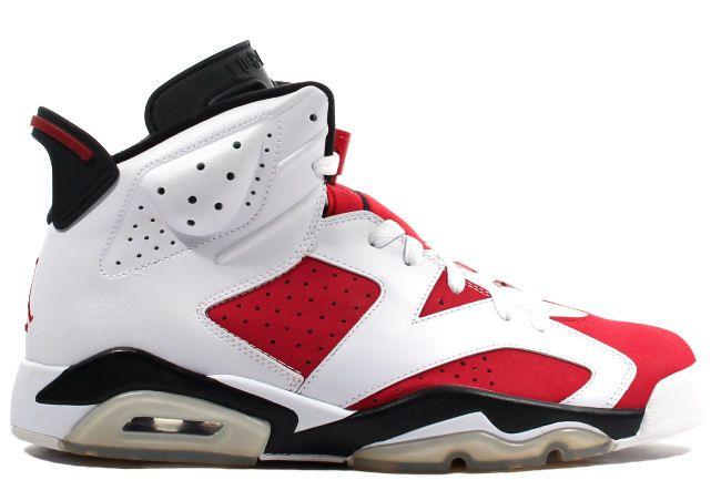 384664-160 Air Jordan 6 Carmine White/Carmine-Black pre order http://www.newjordansstores.com/