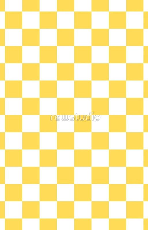 Mustard Yellow And White Checkerboard Pattern Iphone Wallpaper Pink