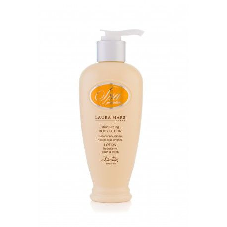 Dzintars SPA Premium Laura Mars Moisturizing body lotion Coconut and Vanilla