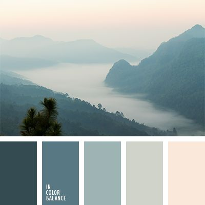 I'm obviously having a color scheme obsession at the moment. I especially love the palettes inspired by nature.
