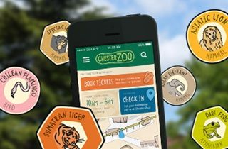 Download our zoo app