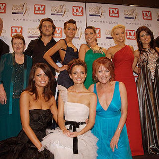 Home and away cast.