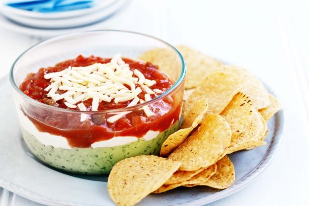 This avocado dip recipe is quick, simple and healthy, a great addition to kids parties.